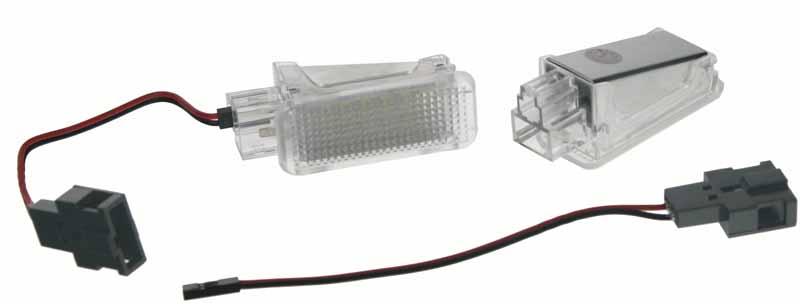 LED osvětlení interiéru VW, Audi, Seat, Škoda, Lamborghini, modré