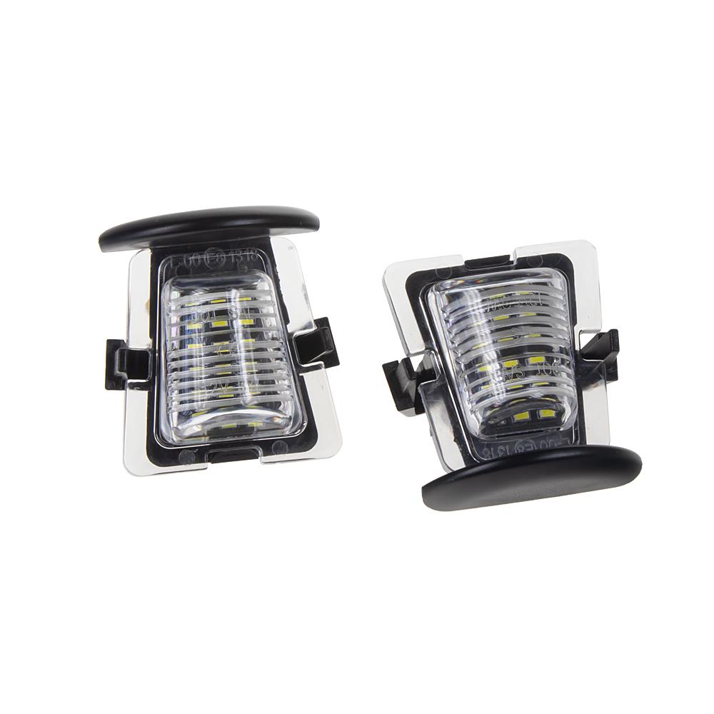 LED osvětlení SPZ do vozu Jeep Wrangler