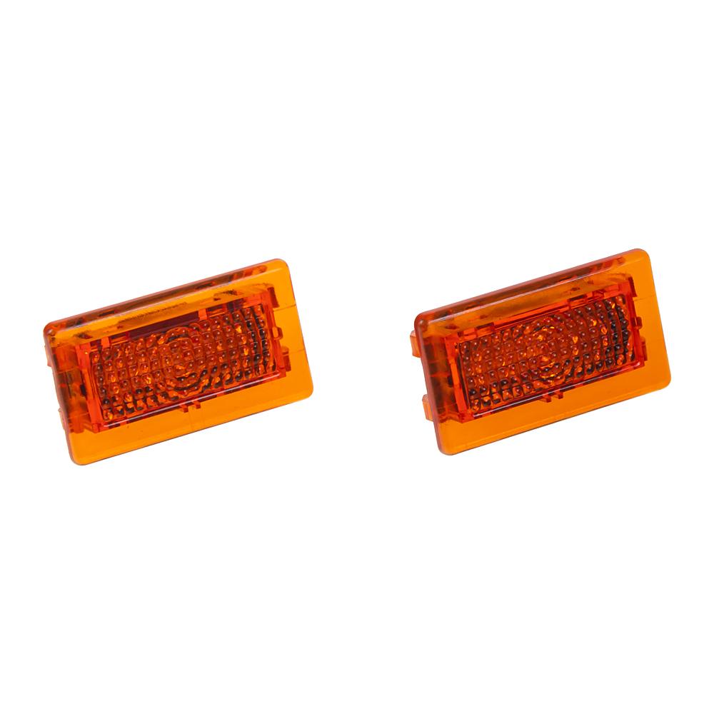LED osvětlení interiéru/exteriéru Tesla, oranžové