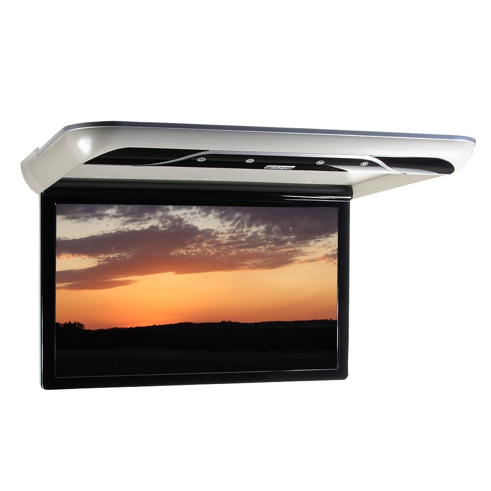 """Stropní LCD monitor 19"""" s OS. Android USB/SD/HDMI/FM, dálkové ovládání se snímačem pohybu, šedý"""