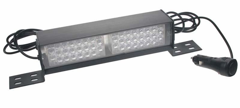 x LED světelná alej, 44x LED 5mm, modrá 220mm