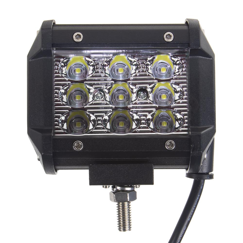 LED světlo, 9x3W, 96mm, ECE R10
