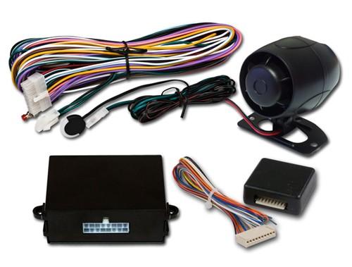 NESTOR sada autoalarmu s připojením na CAN BUS pro ovládání originálním D.O. vozu
