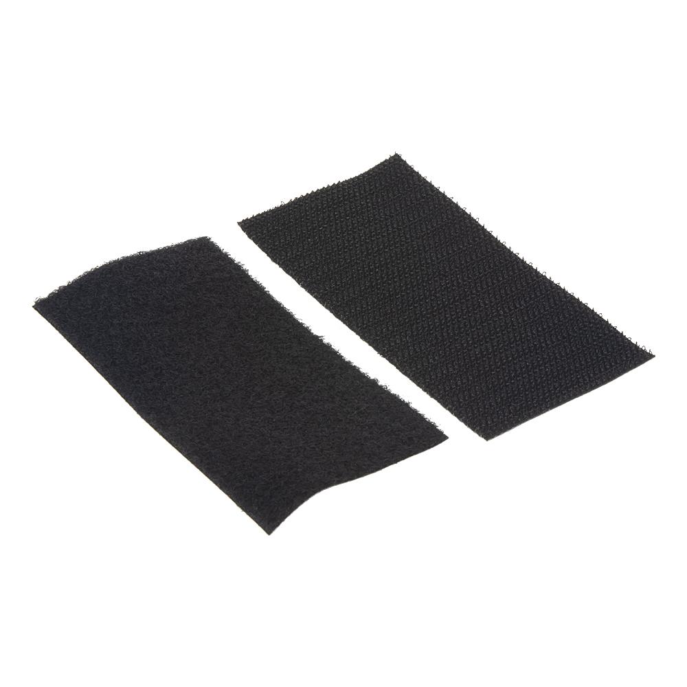 Suchý zip samolepící, SET smyčky+háčky 50x100mm, 25ks