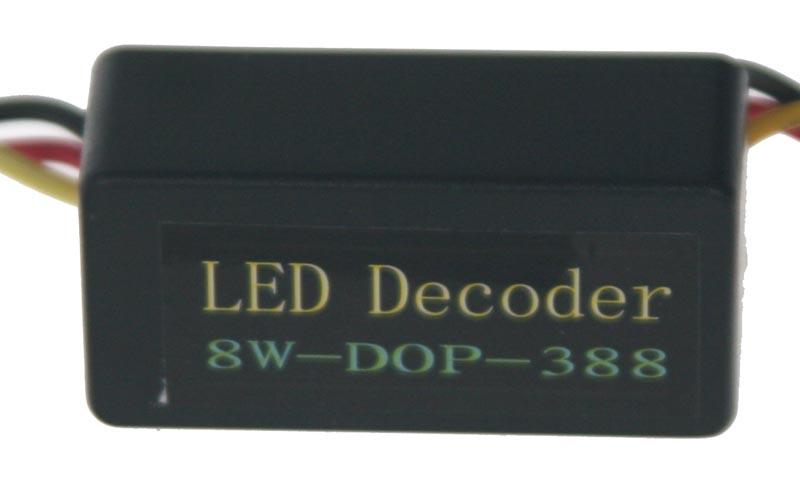 Eliminátor chybových hlášení s redukcí pro žárovky BAY15d