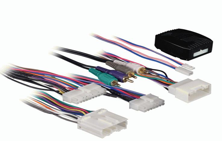 Active syst. adapt. pro Mitsubishi s Rockford Fosgate systémem 06-08