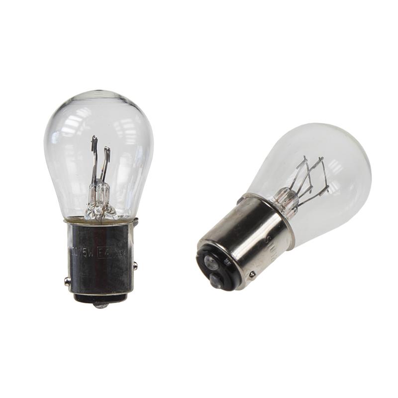 žárovka 12V (P21/5W) BAY15D bílá  (10ks)