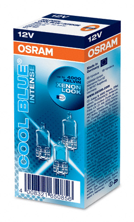 OSRAM 12V W5W (W2,1x9,5d) 5W cool blue intense (1ks)