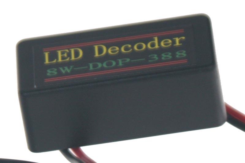 Eliminátor chybových hlášení s redukcí pro žárovky T20 (3156,3157)