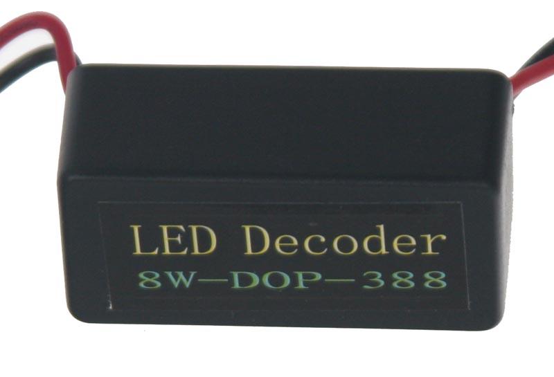 Eliminátor chybových hlášení s redukcí pro žárovky BA15s