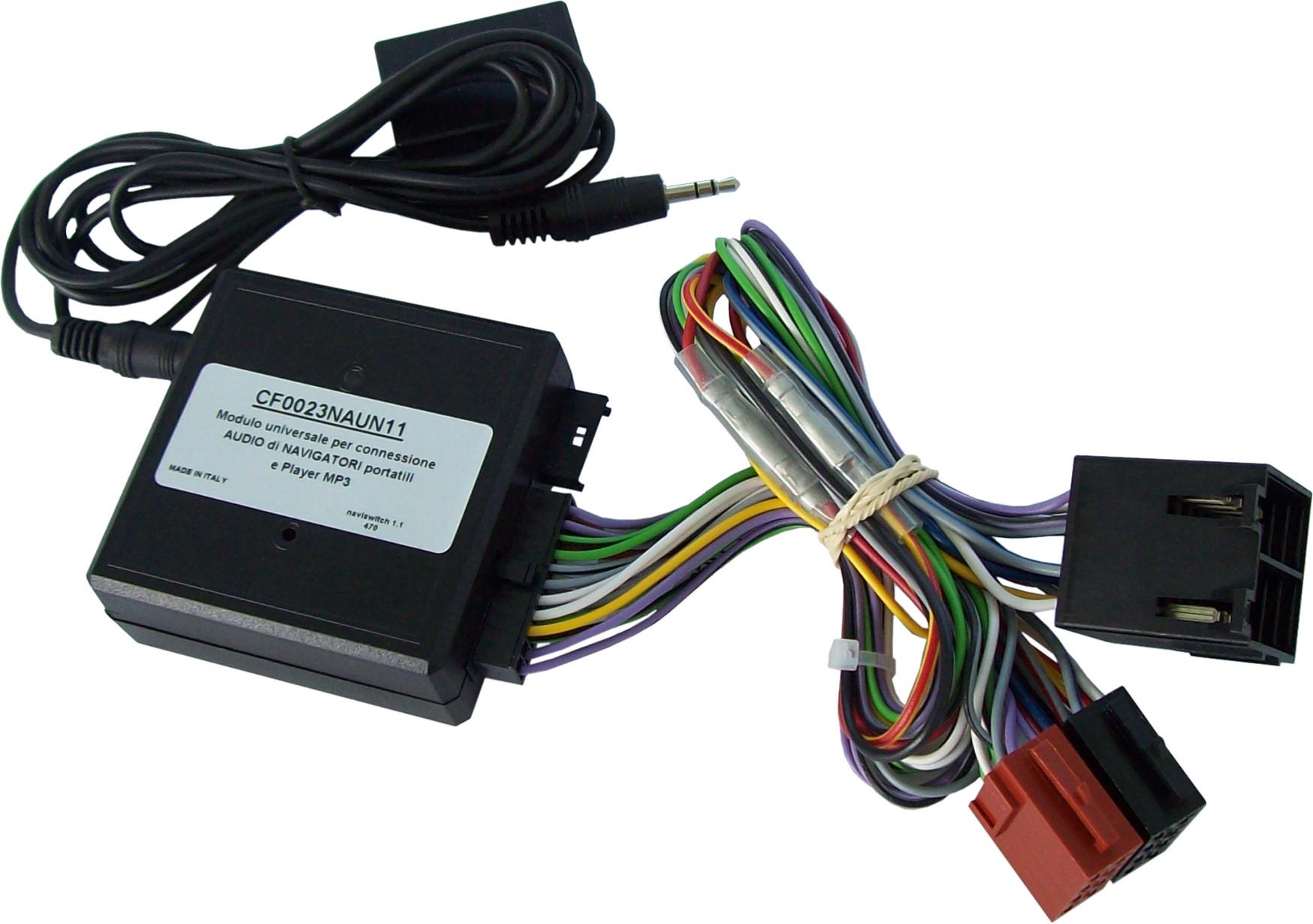Stereo zesilovač pro přenosnou navigaci - Aux adaptér