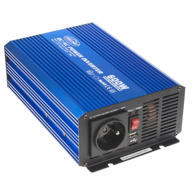 Sinusový měnič napětí z 12/230V, 600W