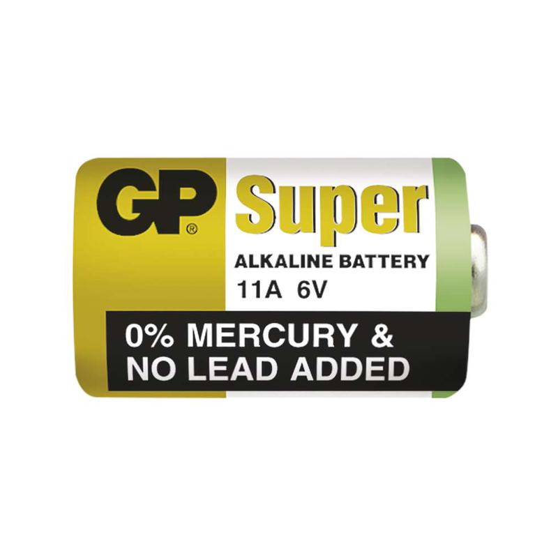 Baterie GP 11A, 6V pro ovl. Jablotron