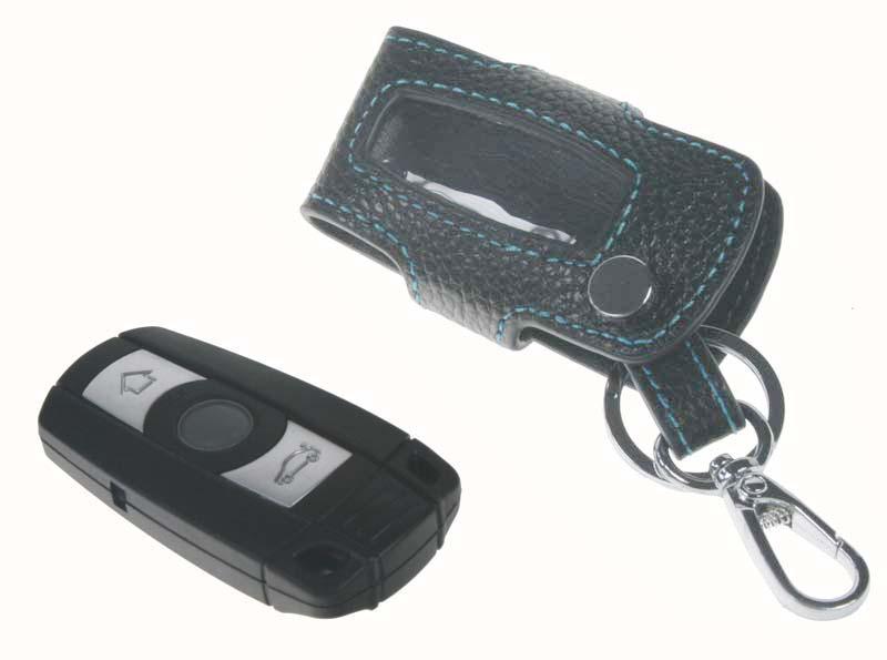 x Kožený obal pro klíč BMW, 3-tlačítkový (48BW102)