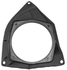 PLAST pro repro Citroen C3  02-04,130mm zadní panel