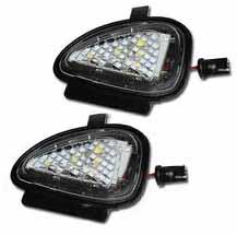 LED osvětlení do zrcátka Volkswagen  Golf VI