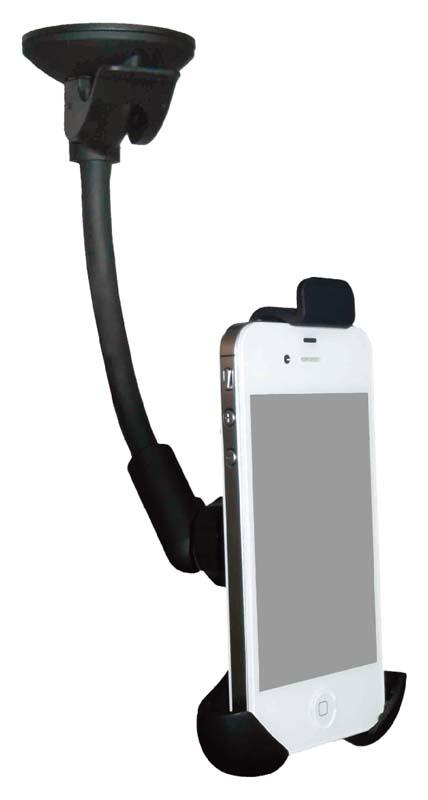 Univerzální držák s úchytem pro telefony výška 108-135mm