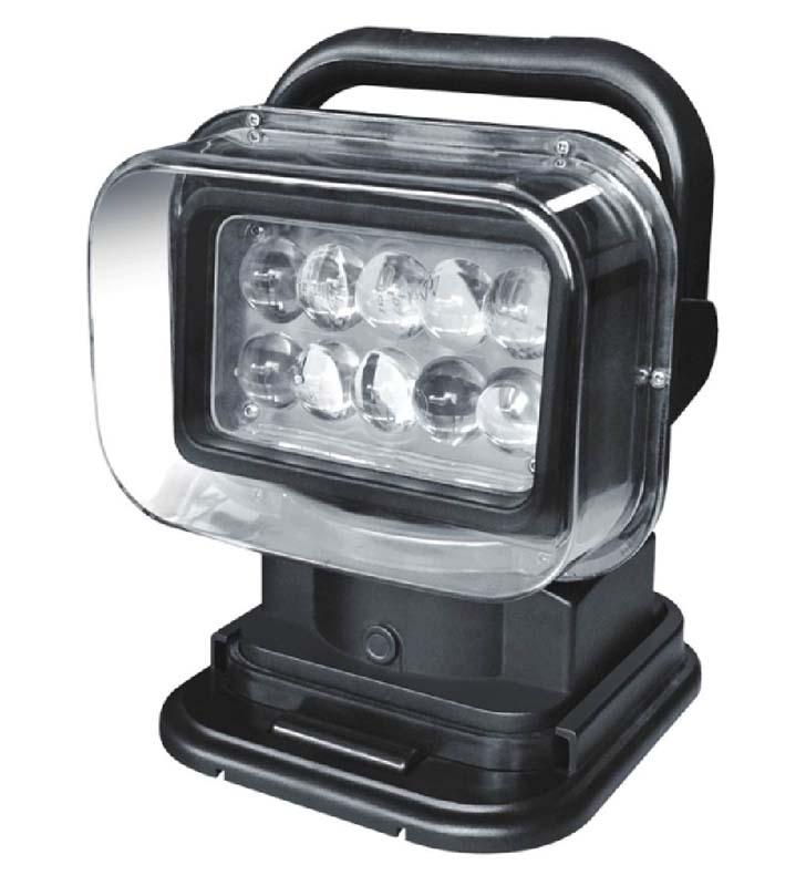 LED dálkově ovládaná vyhledávací svítilna 12V