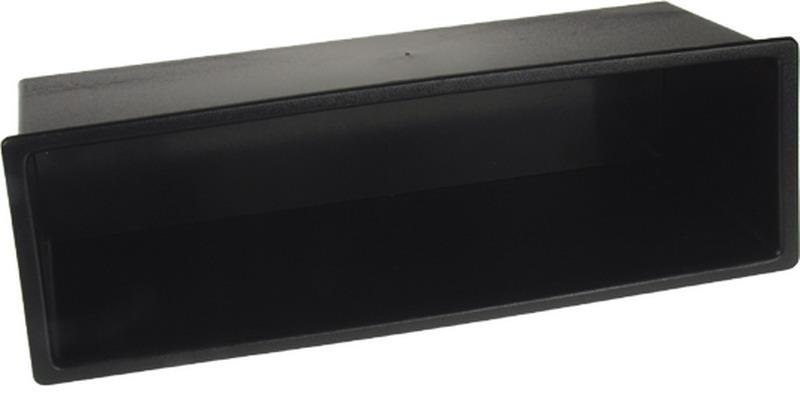 Univerzální plastová přihrádka do otvoru DIN, hloubka 65mm