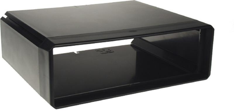 Univerzální box s otvorem DIN, vnější rozměry v67 x š204 x hl164mm
