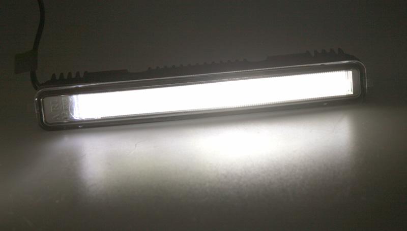 LED světla pro denní svícení s optickou trubicí 160mm, ECE