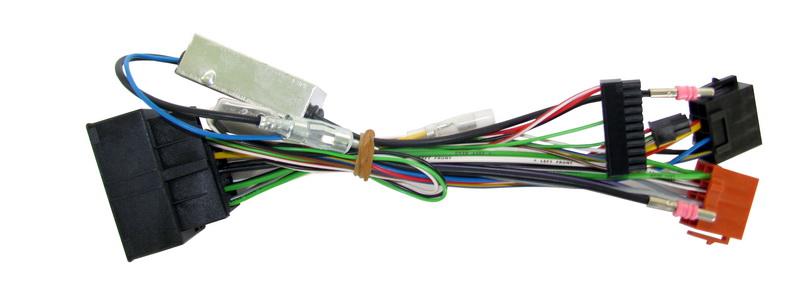 Kabeláž k 57un01 pro vozy Audi, Opel, Porsche, Seat, Škoda a Volkswagen