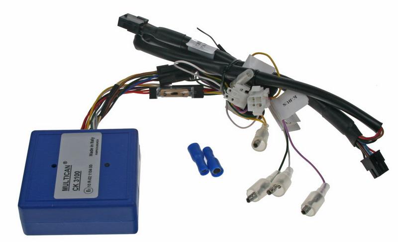 MULTICAN adaptér PARROT3100/OEM ovládání z volantu přes CAN-Bus