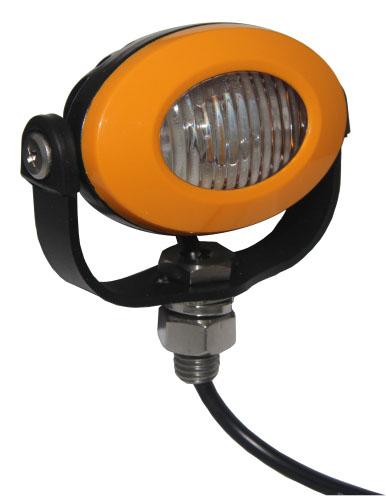 PROFI LED výstražné světlo 12-24V 3x3W oranžový ECE R65 92x65mm