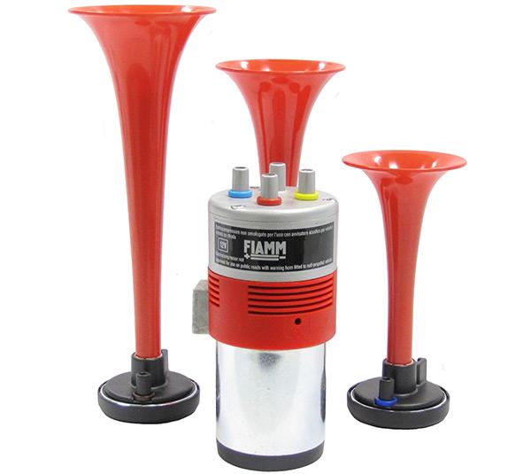 FIAMM TRIO 3-tónová fanfára s kompresorem, 12v