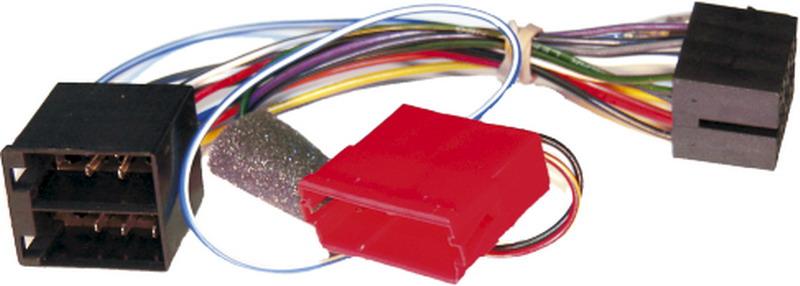 Active syst. adapt. pro Audi ISO rádio/zadní aktivní repro
