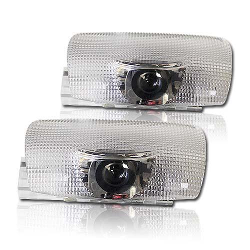 x LED logo projektor pro vozy Lexus integrován v osvětlení dveří