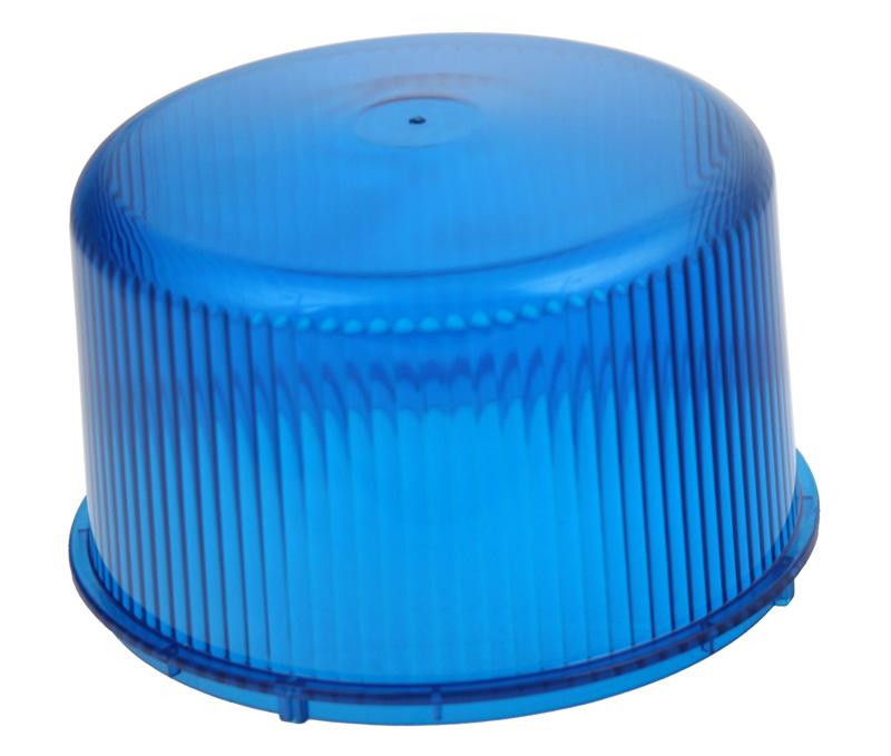 Náhradní kryt modrý pro maják 911-75fblu a 911-75mblu