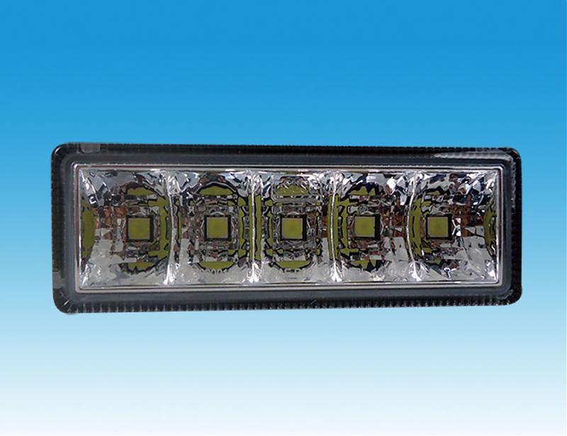 LED světla pro denní svícení, 100x35mm, ECE
