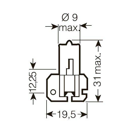 x OSRAM 12V H2 55W standard (1ks)