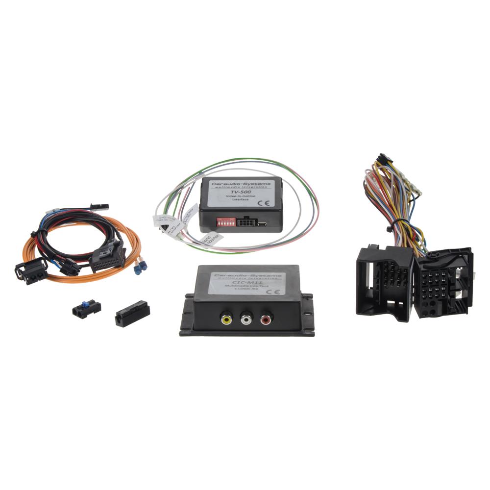 adaptér A/V vstup pro Mercedes SD-slot NTG 2,5 (09-)