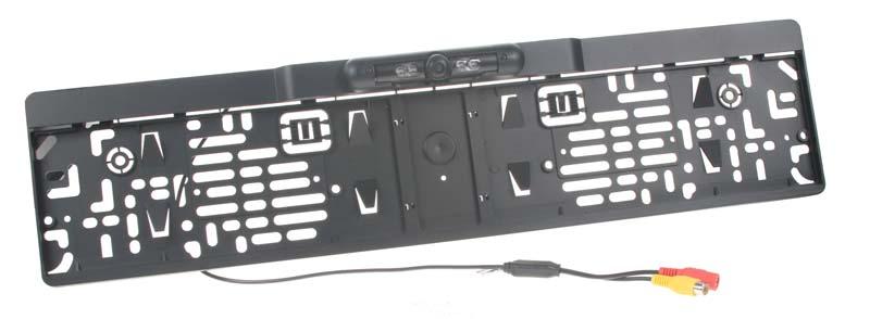 Kamera s rámečkem pro SPZ PAL/NTSC