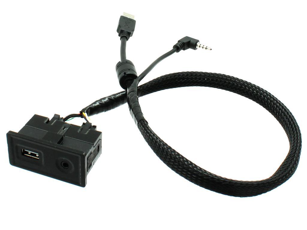 USB+JACK konektor Volkswagen Golf VII 2013-