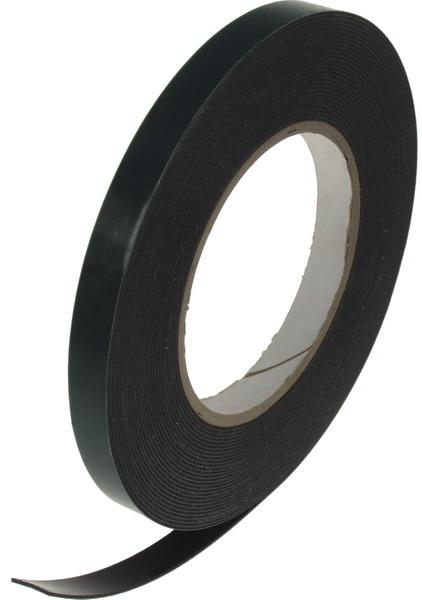 Oboustranná lepící páska černá, 12mmx10m