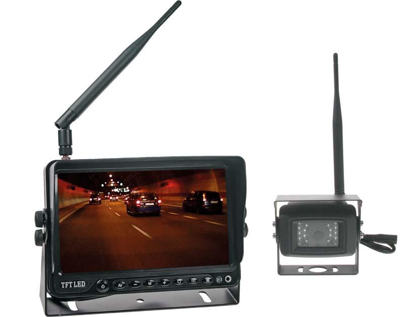 SET bezdrátový digitální kamerový systém s monitorem 7