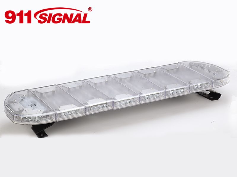 LED rampa 974mm, modrá/červená, 12-24V, ECE R65