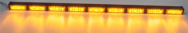 x LED alej 12V, 54x LED 1W, oranžová 1150mm
