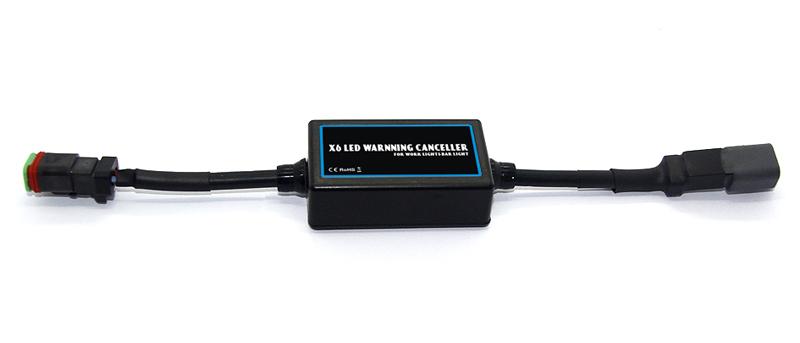 Digitální eliminátor rušení pro LED pracovní světla a rampy