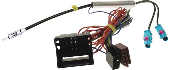 Anténní adaptér double FAKRA+MOST konektor/DIN