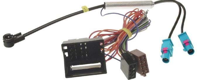 Anténní adaptér double FAKRA+MOST konektor/ISO