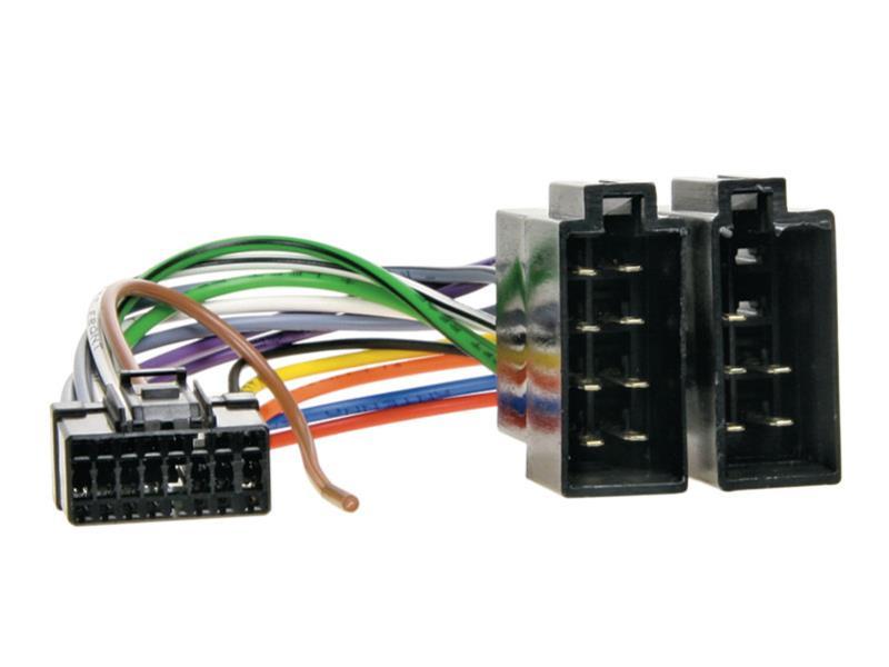 Kabel pro PIONEER 16-pin / ISO černý