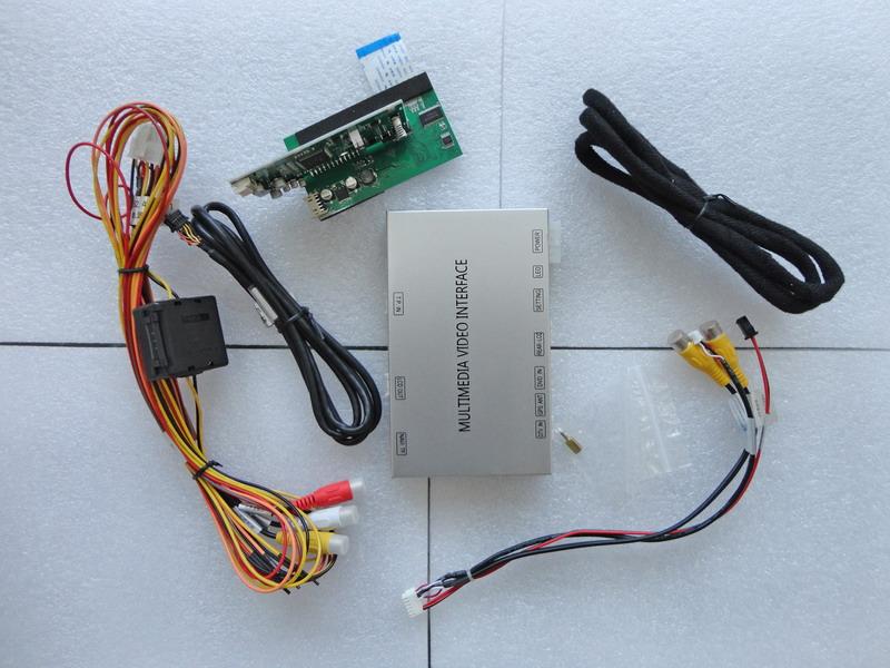 Video vstup pro VW, Škoda s RNS/RCD510, navigační modul