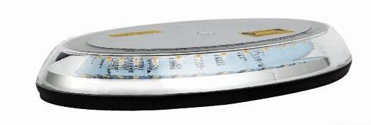 LED rampa oranžová, 32LEDx3W, fix, 12-24V, 395mm, ECE R65/R10