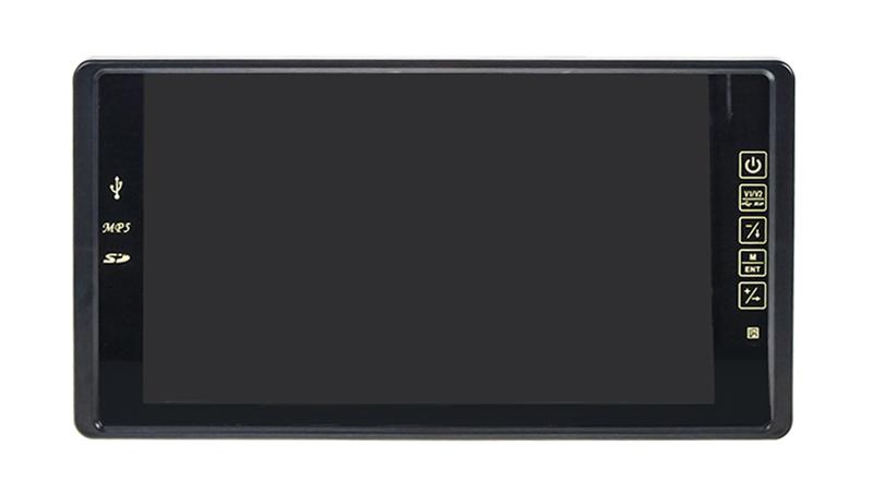 """LCD monitor 9"""" na zrcátko s USB / SD slotem"""