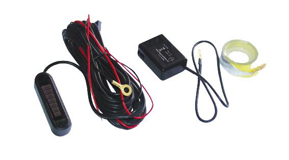 Parkovací systém elektromagnetický - LED displej