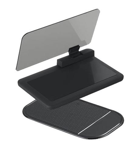HEAD UP DISPLEJ pro smartphone, reflexní deska